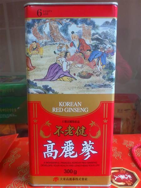 Hồng Sâm củ khô 300g Daedong