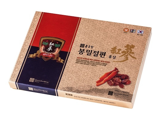 Hồng sâm lát tẩm mật ong - sliced Korean red ginseng with honey
