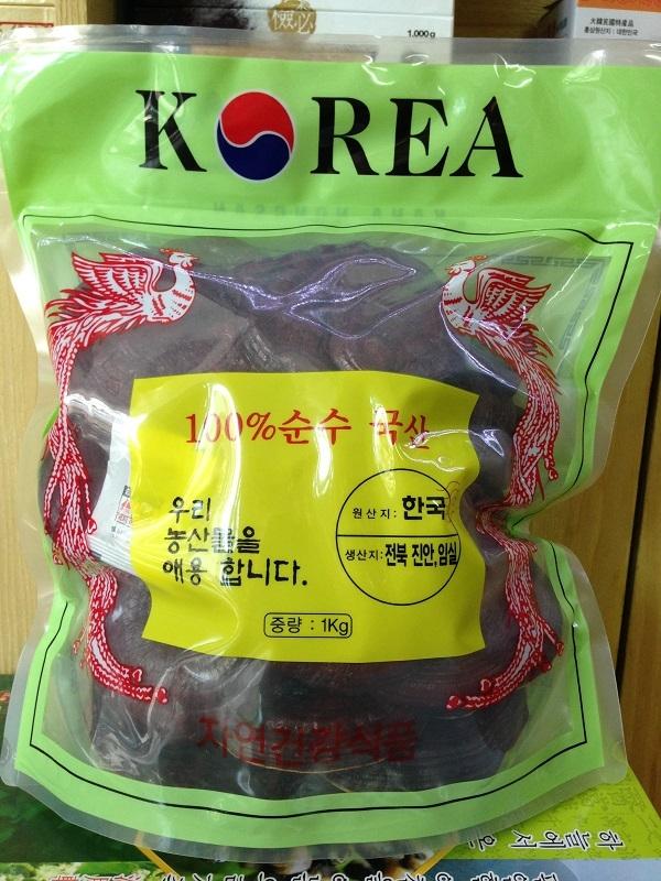 Nấm linh chi đỏ Kana Nongsan túi 1Kg