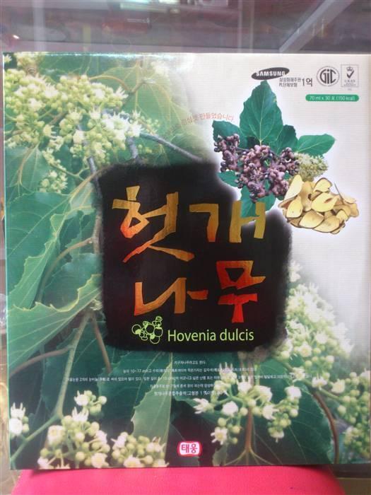 Nước uống bổ gan Hovenia Dulcis_Taewoong Foods