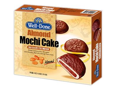 Bánh gạo socola kem đậu phộng Samjin - Well Done Peanut Mochi Cake