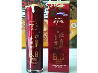 BB Cream hồng sâm SPF45 (Nền - dưỡng - chống nắng) My Gold