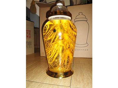 Bình rượu Nhân sâm tươi Hàn Quốc 18lit