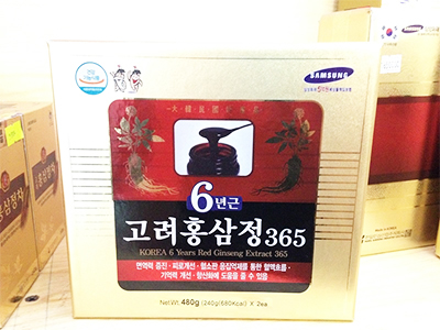 Cao hồng sâm 365 - 6 years Korea red ginseng extract 365