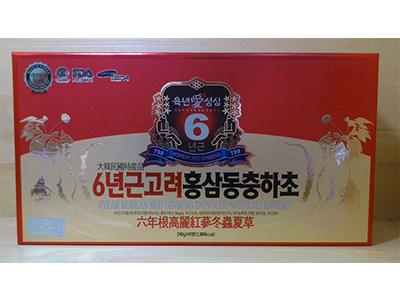 Cao hồng sâm - đông trùng - linh chi 4 lọ 240gr_Twfood