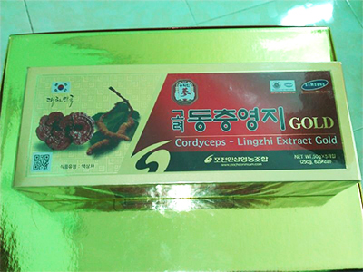 TPCN: Cao đông trùng hạ thảo - linh chi Pocheon_Hàn Quốc