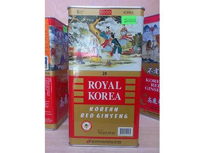 Hồng sâm củ khô Royal Ginseng Pocheon 150g