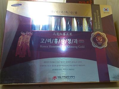 Hồng sâm củ tẩm mật ong - Daedong Korea Ginseng