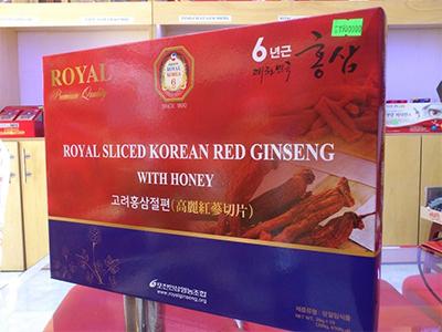 Hồng sâm lát tẩm mật ong _ Royal
