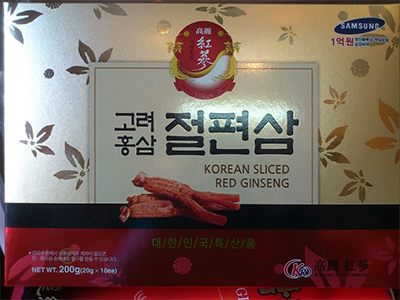 Hồng sâm lát tẩm mật ong KR - Samsung