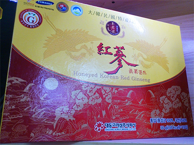 Hồng sâm mật ong 10 củ Daedong - Honeyed Korean Red Ginseng Gold