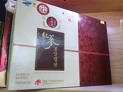 Hồng sâm mật ong thái lát Daedong - Honeyed Korean Red Ginseng Slices