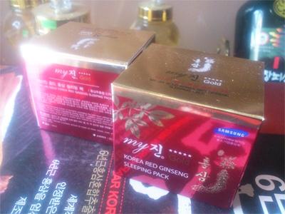 Kem hồng sâm gồm 3 loại (trắng da, chống nhăn, dưỡng da)_My Gold