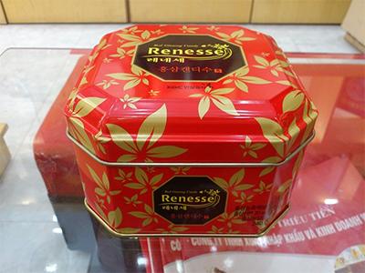 Kẹo hồng sâm Renesse 240g_KGC