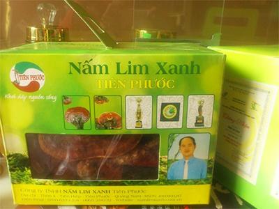 Nấm lim xanh Tiên Phước, Quảng Nam