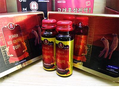 Nước hồng sâm 50ml x 10 chai_Power Red Ginseng