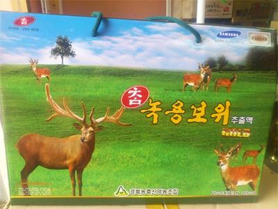 Nước nhung Hươu Hàn Quốc Gyeongbuk