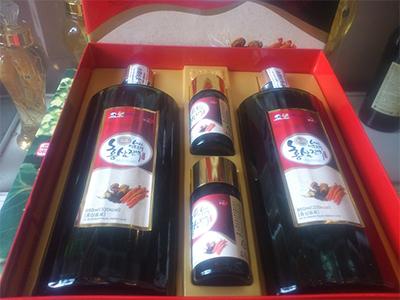 Nước tinh chất sâm nhung hươu linh chi thuốc bắc (2 chai 850ml)_Hanil