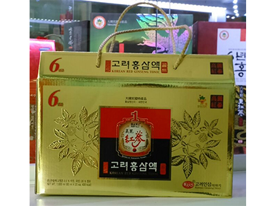 Nước tổng hợp Hồng Sâm 6 năm tuổi Da Jung_Hộp 20 gói