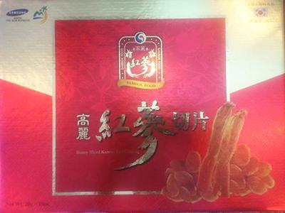 TPCN: Hồng sâm lát tẩm mật ong - Sambok Food