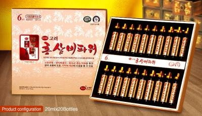 TPCN: NƯỚC HỒNG SÂM B - KOREAN RED GINSENG B POWER