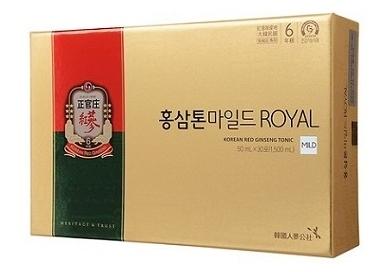 TPCN: Nước uống hồng sâm KGC hộp 30 gói - loại tonic Mild