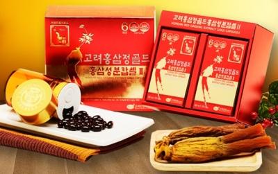 TPCN: VIÊN HỒNG SÂM KGS 350mg x 150 viên_Korean red ginseng extract gold capsule II