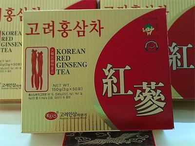Trà hồng sâm Da Jung Hàn Quốc hộp 50 gói
