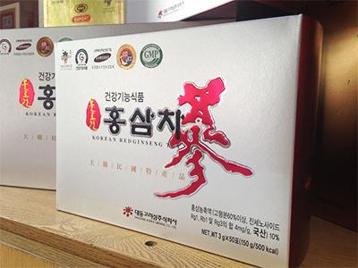 Trà hồng sâm Daedong 150g - Korean Red Ginseng Tea