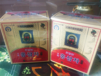 Trà hồng sâm Hàn Quốc okinsam hộp 50 gói