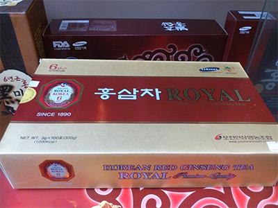 Trà hồng sâm Royal 100 gói