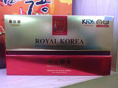 Viên hồng sâm Royal Hàn Quốc_ Korea Red Ginseng extract capsule