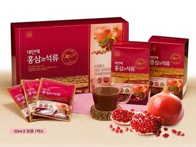 TPCN: Chiết xuất hồng sâm lựu Daedong - Duham Red Ginseng Pomegranate